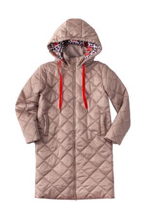 Пальто I love to dream. Цвет: бежевый