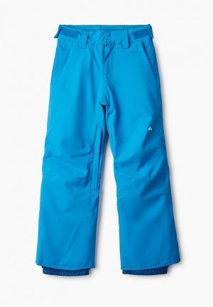 Брюки горнолыжные Quiksilver. Цвет: голубой