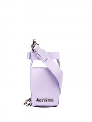 Сумка для бутылки Jacquemus. Цвет: фиолетовый