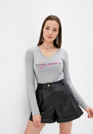 Лонгслив Guess Jeans. Цвет: серый