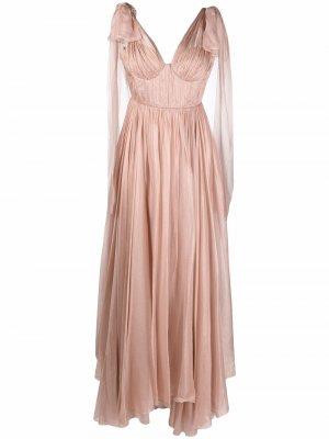 Вечернее платье Inna Maria Lucia Hohan. Цвет: розовый