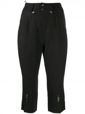 Классические брюки капри pre-owned Christian Dior. Цвет: черный