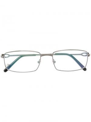 Оптические очки Décor C Cartier. Цвет: черный