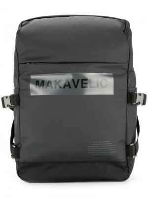 Ludus bow-logo universe daypack Makavelic. Цвет: черный