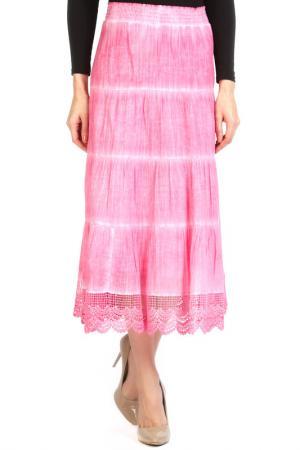 Юбка Apanage. Цвет: розовый