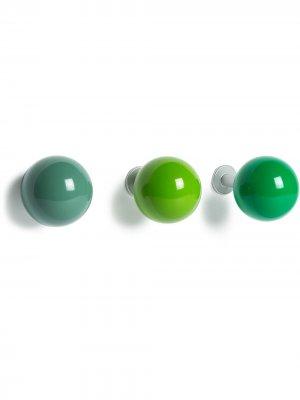 Набор вешалок Coat Vitra. Цвет: зеленый