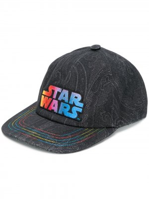 Кепка с надписью Star Wars Etro. Цвет: черный