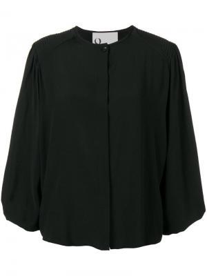 Loose fitted blouse 8pm. Цвет: черный