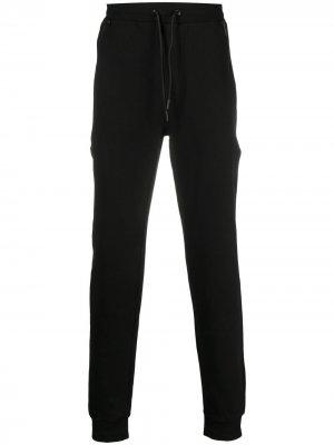 Спортивные брюки с кулиской Karl Lagerfeld. Цвет: черный