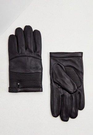 Перчатки Armani Exchange. Цвет: черный