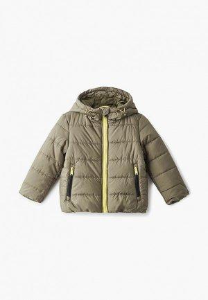 Куртка утепленная Baon. Цвет: зеленый