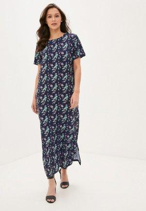 Платье Winzor. Цвет: синий