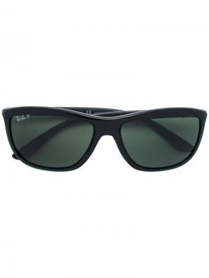 Солнцезащитные очки в квадратной оправе с поляризованными линзами Ray-Ban.  Цвет  серый e839e5880f2