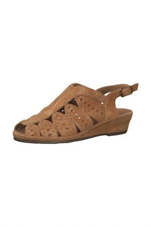 Туфли JANA. Цвет: коричневый
