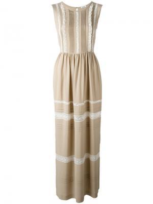 Платье Anja P.A.R.O.S.H.. Цвет: нейтральные цвета