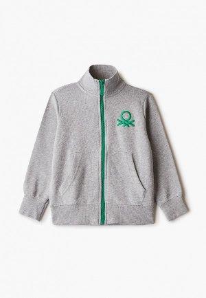 Олимпийка United Colors of Benetton. Цвет: серый
