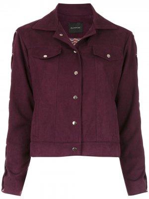 Куртка Napoles Olympiah. Цвет: красный