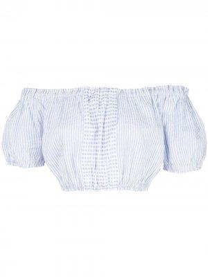 Блузка Semira lemlem. Цвет: синий