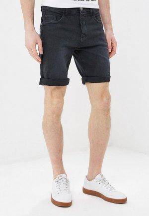 Шорты джинсовые Blend. Цвет: черный