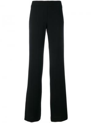 Расклешенные брюки D.Exterior. Цвет: синий