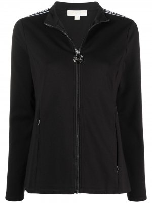 Спортивная куртка на молнии с логотипом Michael Kors. Цвет: черный