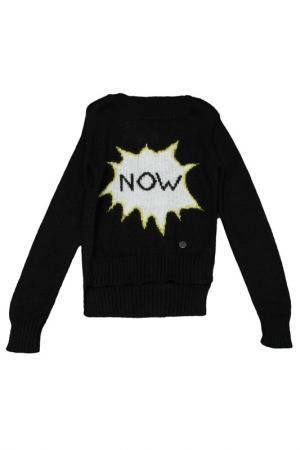 Пуловер Silvian Heach Kids. Цвет: черный