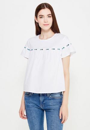 Блуза QED London. Цвет: белый