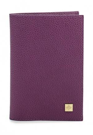 Обложка для паспорта Dimanche. Цвет: фиолетовый