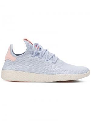 Теннисные кроссовки Hu Adidas By Pharrell Williams. Цвет: синий