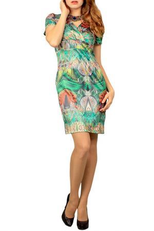 Платье Lamiavita. Цвет: зеленый