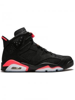 Хайтопы Air  6 Retro Jordan. Цвет: черный