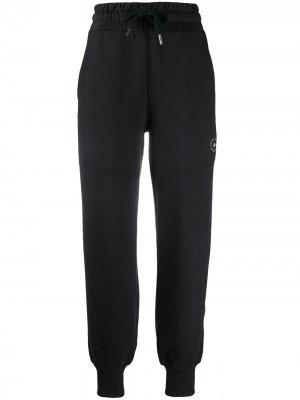 Зауженные спортивные брюки adidas by Stella McCartney. Цвет: черный
