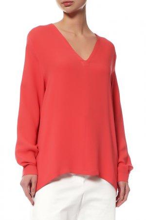Блуза MAXMARA. Цвет: красный