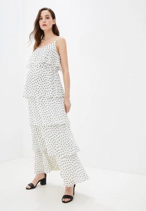 Платье Dorothy Perkins Maternity. Цвет: белый