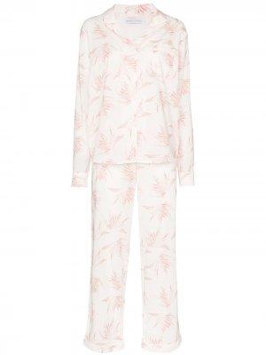 Пижама Deia Desmond & Dempsey. Цвет: белый
