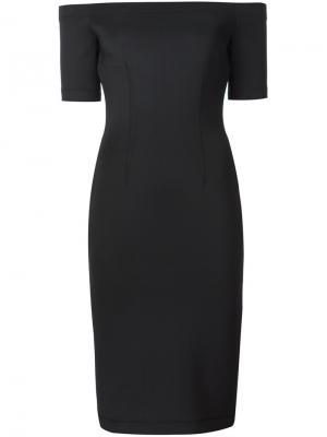 Облегающее платье Yigal Azrouel. Цвет: черный