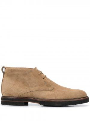 Tods ботинки дезерты Tod's. Цвет: нейтральные цвета