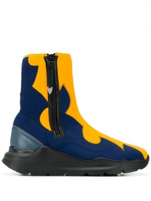 Ботинки-носки Toga Pulla. Цвет: синий