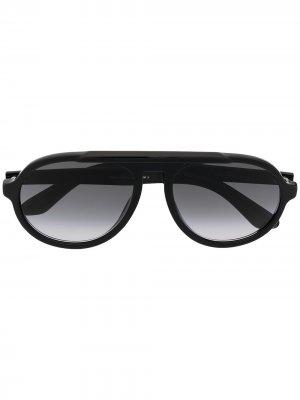 Солнцезащитные очки Ron Jimmy Choo Eyewear. Цвет: черный