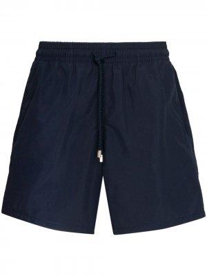Плавки-шорты Moorea Vilebrequin. Цвет: синий