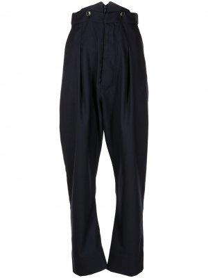 Зауженные брюки с завышенной талией Vivienne Westwood. Цвет: синий