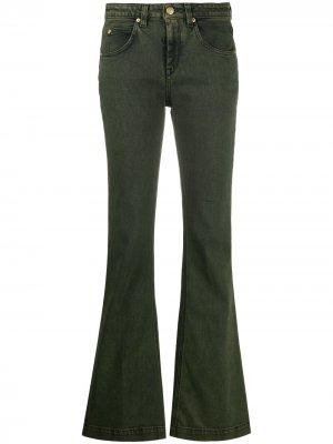 LAutre Chose расклешенные джинсы средней посадки L'Autre. Цвет: зеленый