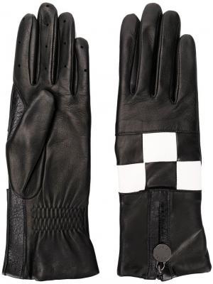Argi gloves Agnelle. Цвет: черный
