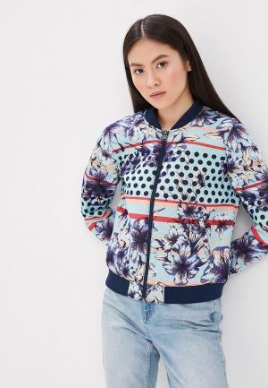 Куртка Roxy. Цвет: разноцветный