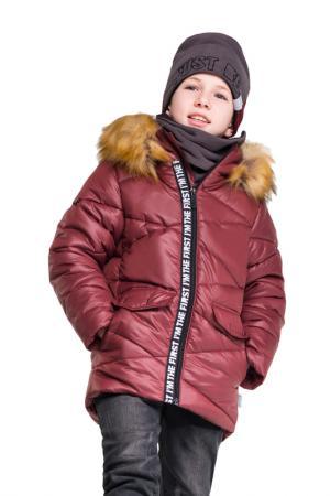 Куртка BOOM. Цвет: бордовый