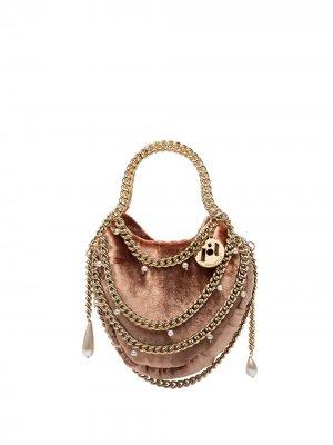 Мини-сумка Teresa с цепочками Rosantica. Цвет: розовый
