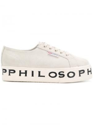 Кроссовки  X Philosophy Superga. Цвет: белый