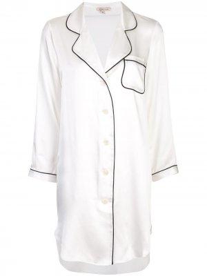 Ночная рубашка Jillian Morgan Lane. Цвет: белый