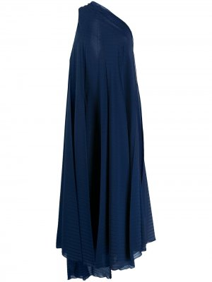 Платье Lennon с драпировкой Roland Mouret. Цвет: синий
