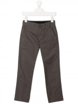 Прямые брюки чинос Sun 68 Kids. Цвет: серый